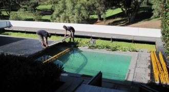 Over Pool Flooring Hire in Perth